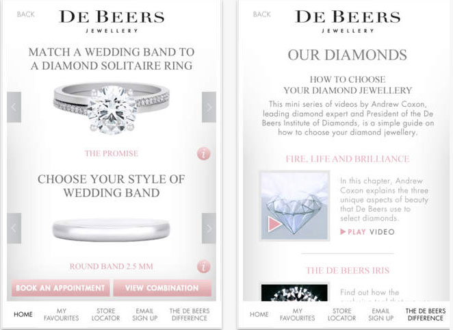 De Beers su iPhone