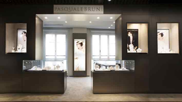 Shop di Pasquale Bruni all'interno del building Brian & Barry
