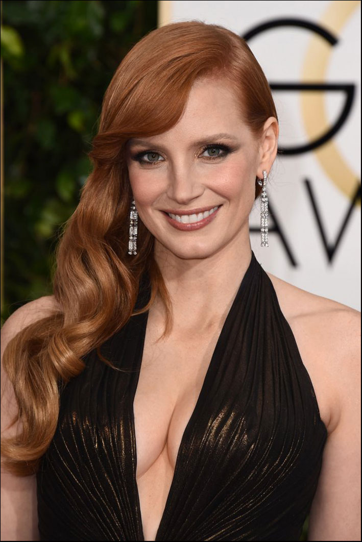 Jessica Chastain testimonial di Piaget