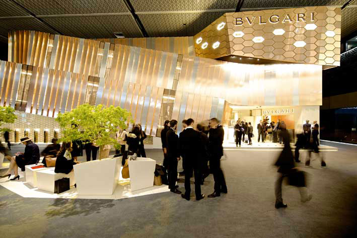 Interno di Baselworld 2014