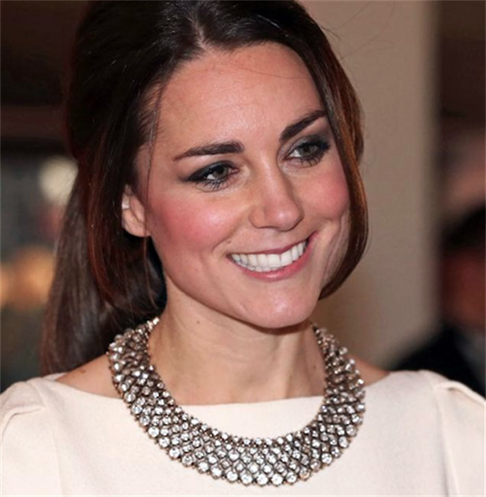 La collana di Zara indossata da Kate Middleton