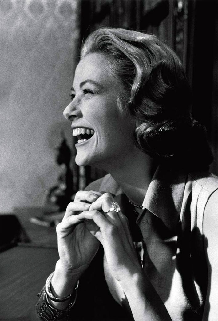 Grace kelly con anello