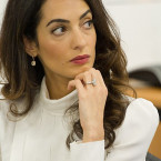 The ring Amal Clooney in her sights