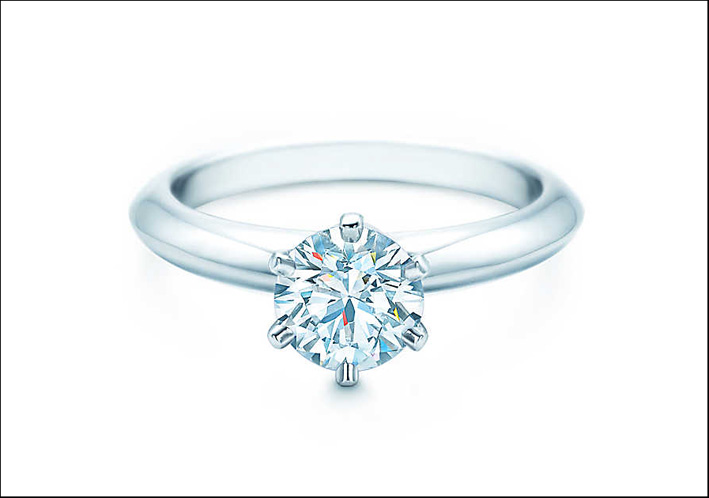 3 Tiffany setting