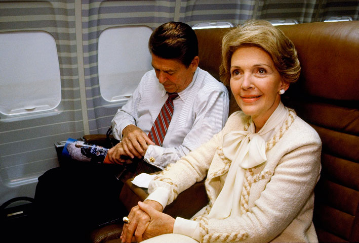 Nancy e Ronald Reagan