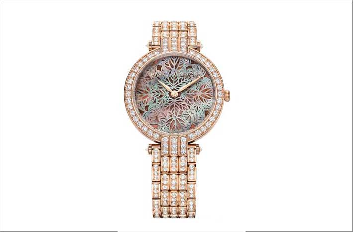 Harry Winston , Premier Collection, con oro rosa e diamanti