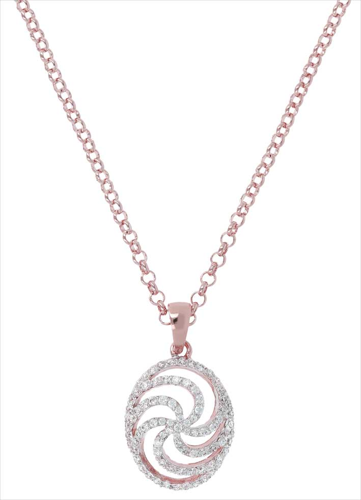 Altissima whirls fancy pave rolo necklace. Prezzo: 139 euro