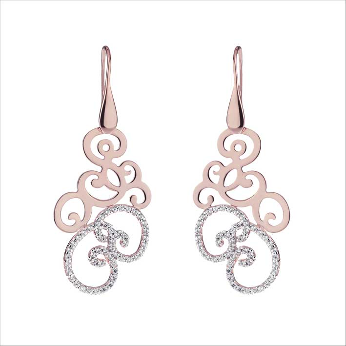 Rokoko baroque earrings. Prezzo: 129 euro