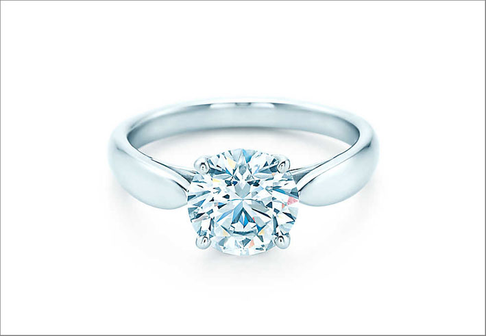 Tiffany Harmony, anello solitaire