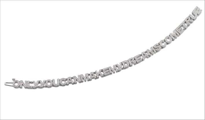 Bracciale di diamanti Only you