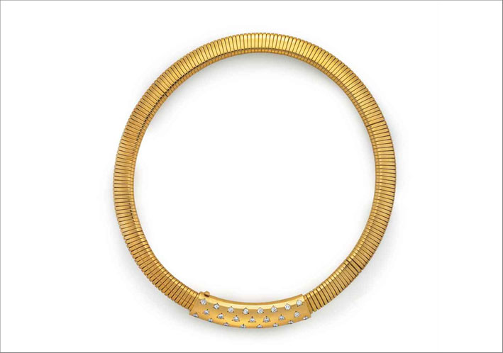 Collier di Van Cleef & Arpels in oro e diamanti