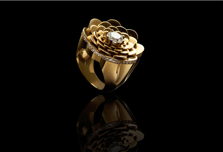 Cadar, collezione Bloom, cocktail ring