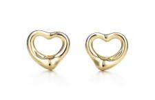 Tiffany, orecchini in oro 18 carati, per lobi forati