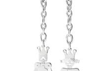 Re e Regina d'argento firmati Pomellato