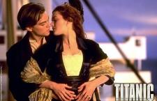 Leonardo Di Caprio e Kate Winslet nella locandina del film