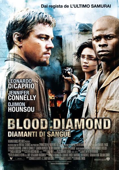 La locandina di «Blood Diamond»