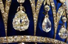 La tiara di Giuseppina con i diamanti dello zar