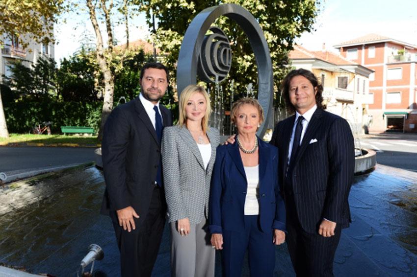 Giorgio, Silvia, Gabriella e Guido Grassi Damiani