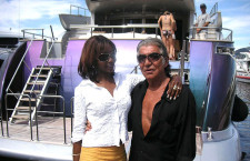 Roberto Cavalli and friend