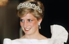 La tiara di diamanti nel giorno del matrimonio, mercoledì 29 luglio 1981