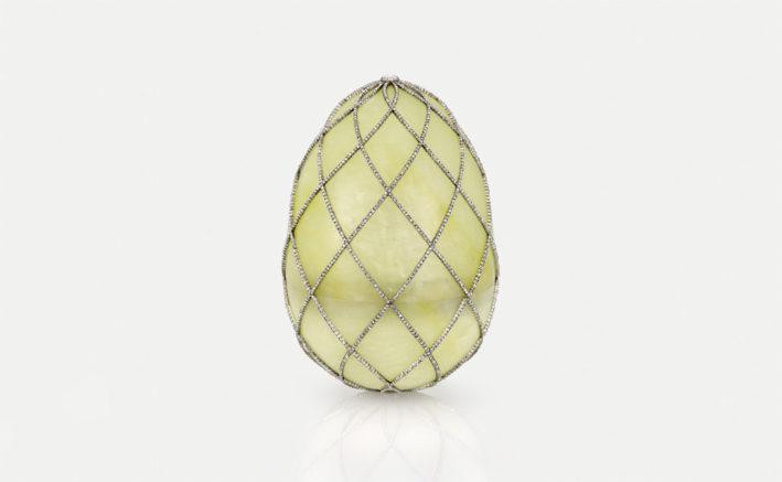 Uovo Fabergé con 1.891 diamanti