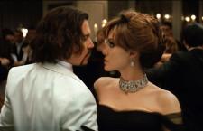 Angelina Jolie e Johnny Dep nel film The Tourist