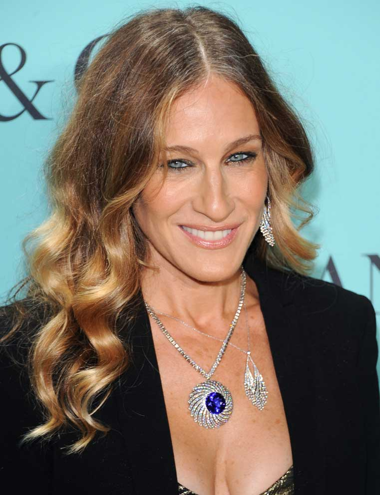 Sarah Jessica Parker nella sua New York, sex and the necklace