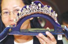 Una tiara di Imelda Marcos