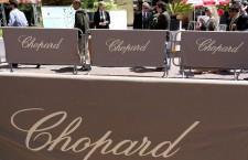 Banner di Chopard al Majestic Hotel di Cannes
