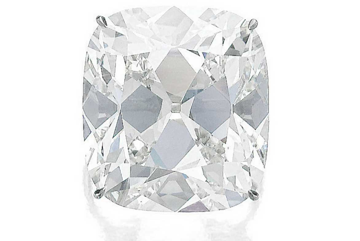Un anello di diamanti in asta da Sotheby, valutato 1,3-1,6 milioni di dollari