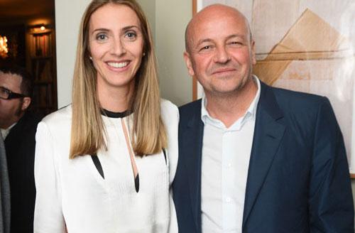 Cecile Andrau con Thierry Andretta