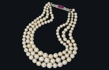 Collana di perle naturali. Venduta a 1,6 milioni di dollari