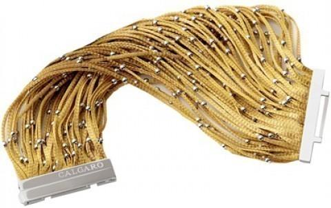 Bracciale a fili d'oro di Calgaro