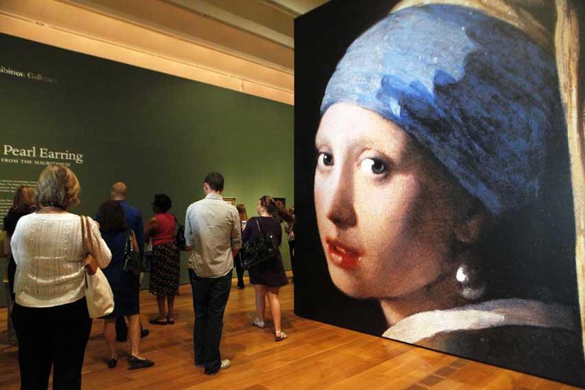 La ragazza con lorecchino di perla, di Johannes Vermeer