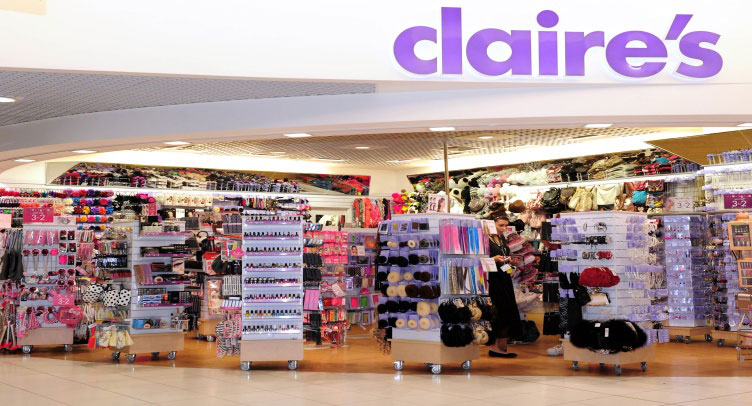 Claire's dilaga: 100 negozi