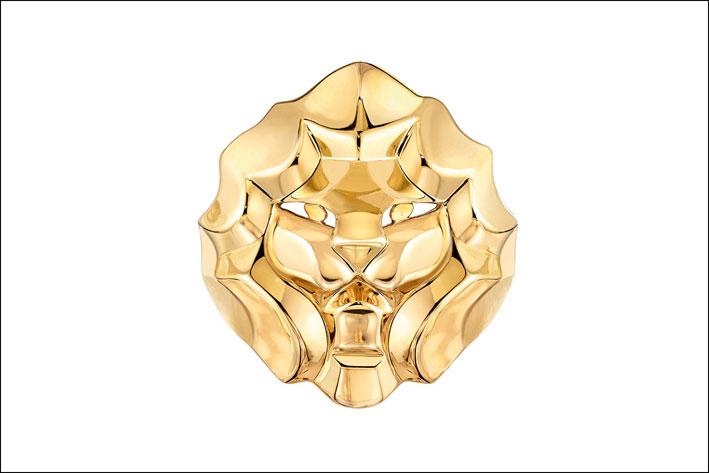 Chanel, anello d'oro Sous le signe du Lion