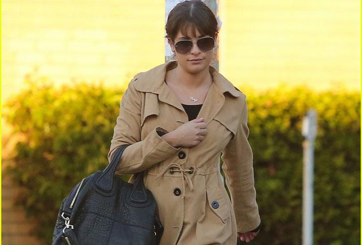 Lea Michele con la collana Cory