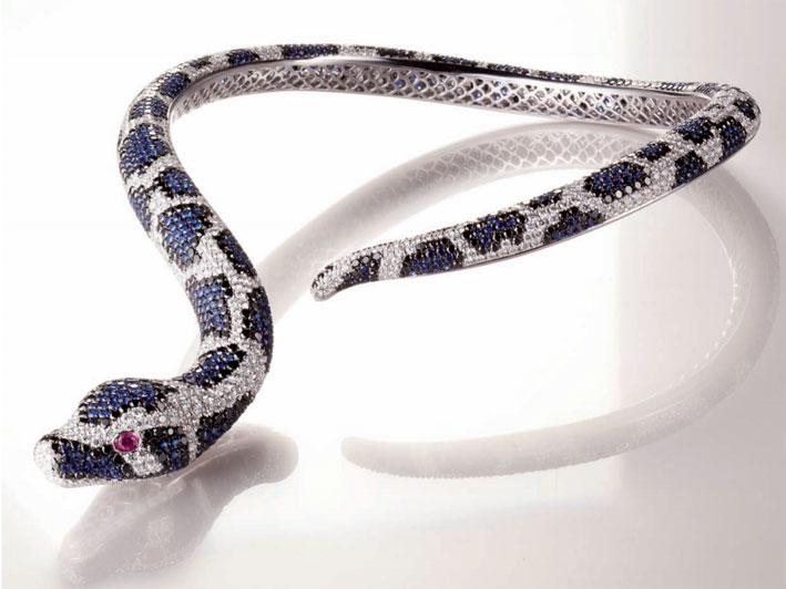 Roberto Coin, collana serpente per l'edizione 2012