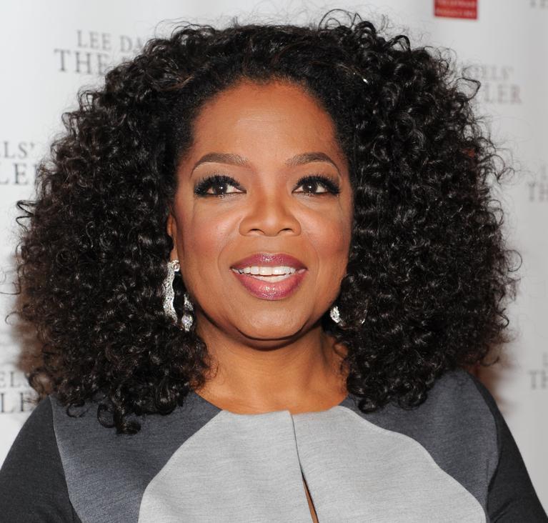 Oprah Winfrey ha la passione per i maxi-orecchini