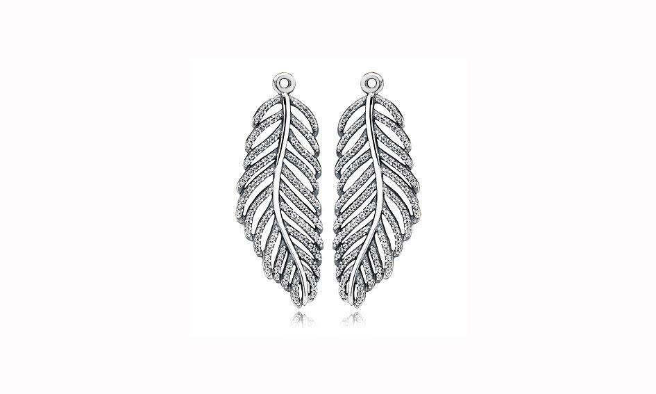 Pandora Feather: orecchini