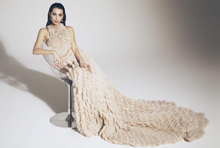 Eugenia Bruni indossa la collezione Bon Ton