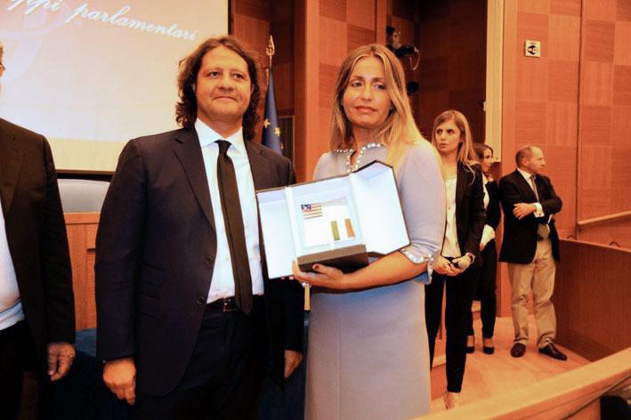 La Fondazione Italia-Usa ha conferito il premio America 2013 a Guido Damiani