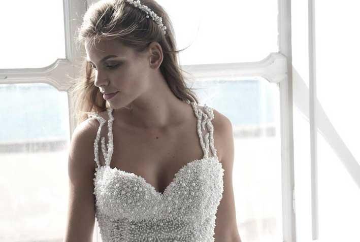 L'abito-gioiello da sposa
