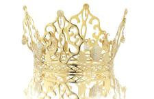 La corona indossata da Victoria Beckham il giorno del matrimonio