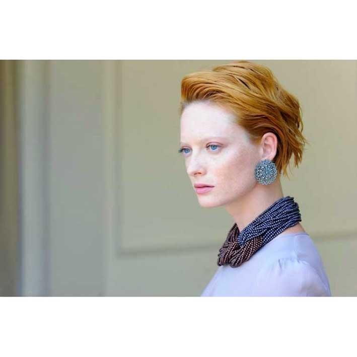 Collana e orecchini firmati Lucia Odescalchi