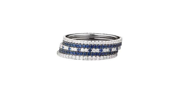 L'anello di Martin Katz del valore di 2.500 dollari