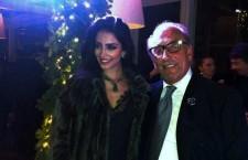 Jessica Kahawaty e Roberto Coin