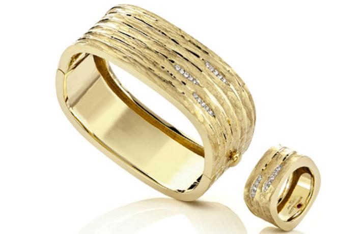 Bracciale e anello della Bois collection