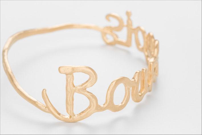 Bracciale Bourgeois in argento placcato oro rosa