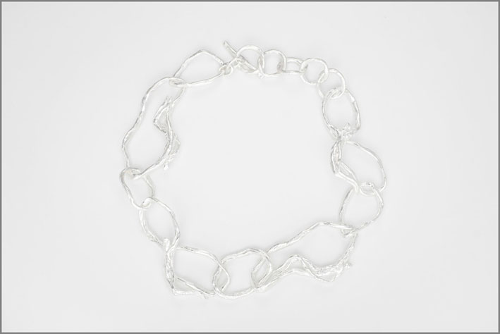 Catena girocollo in argento 925